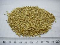 dried ginger root tea cut NO sulfur and low pesticide residue
