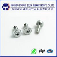 M3X7 thin head cap screw torx drive screw