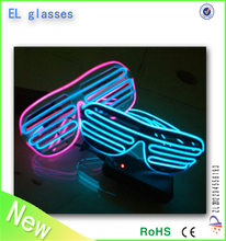 Party Favor Flashing Led Light Sunglasses cool glasses Suitable for teenager or adult