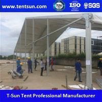 850g/sqm fireproof PVC white marquee tent for sale