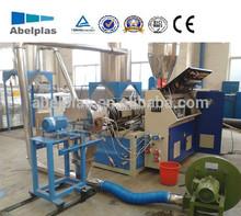 plastic compounding pelletizing machine / plastic pelletizer machine