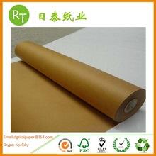 Duplo marrom kraft monte de papel frente e verso