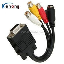 2015 new rca to vga cables