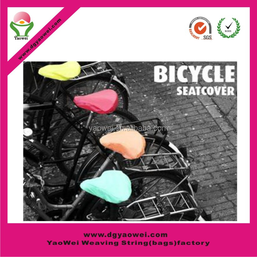 2015 new promotion fashion waterproof bike cover PVC bike seat cover saddle cover