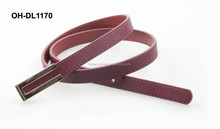 2015 women pu leather belt for formal dress