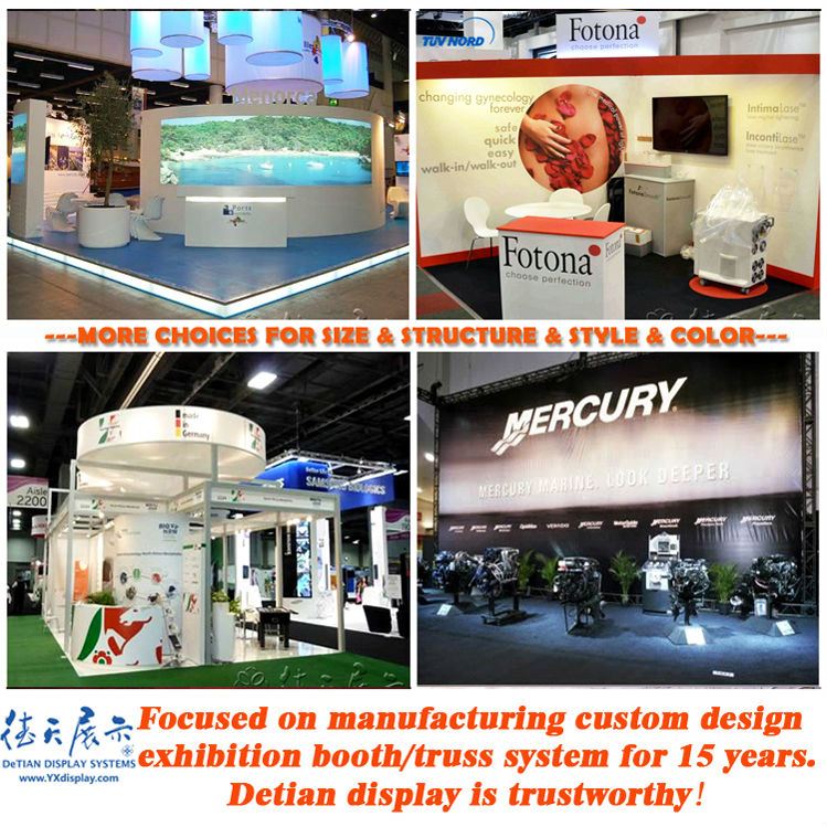 Fashion Exhibition Booth : Fashion wooden exhibit booth design for trade show display