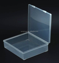 Devices Storage box, square hinged lid container