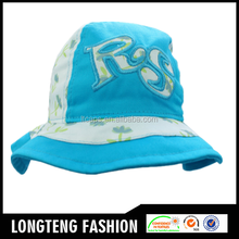 2015 high quality funny style children tie dyed plain bucket hat wholesale