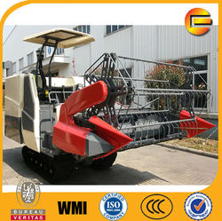 full feeding combine harvesting machinery with 2M cutting width