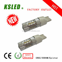 Easy replacement 9-30V 7443 led auto lamp 7440 20w led motorcycle turn light BAY15D 1157 3-80W IP 67 CE ROHS 2 years