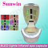 SW-708S Best products for import!Portable ozone steam sauna with 8 LED lights