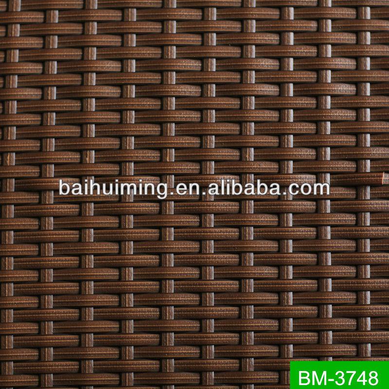 Плетенная корзина РЕ ротанг имитационный плетенный материал