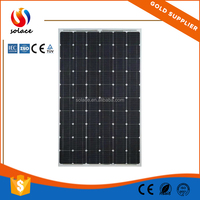 for solar energy and solar system China manufacturer 250w Mono photovoltaic solar panel price