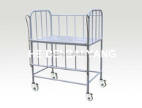 A-156 all plastic-sprayed baby carriage medical bed