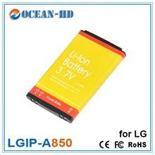 Customized LGIP-A850 for LG 3.7v 850mah lipo battery cell
