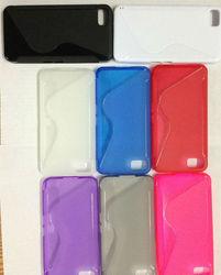 Cheap S Line TPU Back case For Blackberry Z10 phone
