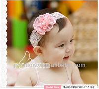 cute baby wide lace headband