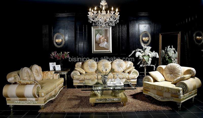 Di lusso italiano in legno in stile divano di design del tessuto ...