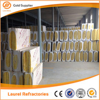 Hanging Stone Curtain Wall Rock Wool Insulation Material LR140