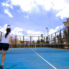 Professional outdoor rubber tennis court flooring material