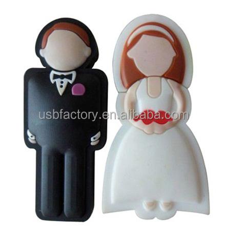 mari e et le mari faveurs de mariage stylo lecteur mari e mari en forme usb flash drives. Black Bedroom Furniture Sets. Home Design Ideas