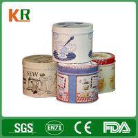 Exsiting mold round cardboard gift box, metal round box