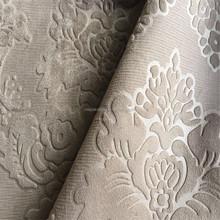 Cheap FDY 100%polyester dyed embossed velvet