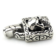 custom good present for boyfriend vintage necklace pendant china factory 316l stainless steel jewelry