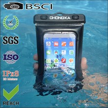 wholesale custom pvc waterproof bag for samsung galaxy s4 mini