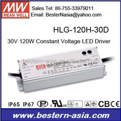 Timmer dimmable LED Driver 30V Meanwell HLG-120H-30D