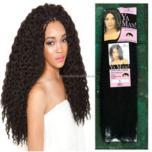 Synthetic Afro Kinky Braiding Hair Kinky Twist Braiding Hair For African American Women Multicolor