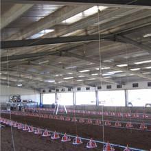 equipment for poultry raising prefab broiler chicken houses