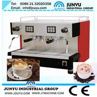 semi automatic Italian Commercial Coffee Machine with two heads for cafe shop
