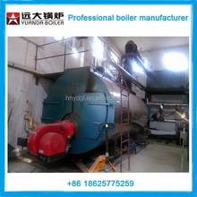 600kw atmospheric pressure hot water boiler/fire tube water boiler on wood pellets for home application