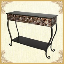 Selling retro scroll console table