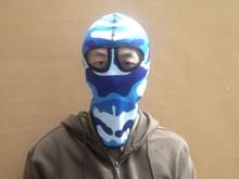 Wholesale Winter Thermal Sublimation Logo Printing Funny Army Dustproof Custom Colored Fashion Cheap Sports Ski Hood Masks