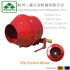 PTO Concrete Mixer for sale,hydraulic tractor mixer,mixer for tractor 3pt implements