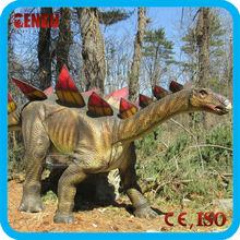 fibra de vidrio dinosaurio simulación escultura