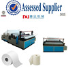 Bathroom paper processing type perforating rewinding toilet tissue converting machine