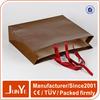 decorative t shirt packaging Uv paper bag with ribbon handles