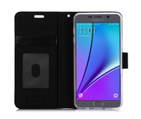 With Strap Designs Smart Leather Wallet Phone Case For Samsung Note 5