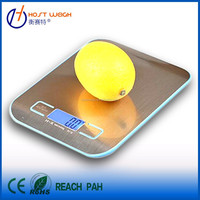5kg digital kitchen food scale with LCD display for kitchen use,food,fruit,vegetable