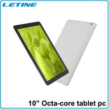 High Speed 2.0Ghz Octa core 10.1 inch sex power tablet,two camera wifi tablet