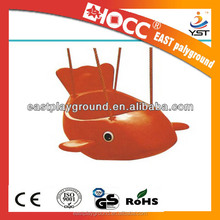 Small equipment plastic slide with swing sets for children /swing parts