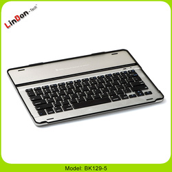 2016 New product For iPad Pro 12.9 inch Aluminum wireless bluetooth keyboard case BK129-5