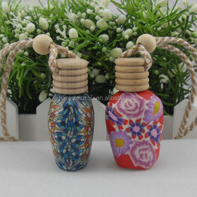 Beautiful design car air freshener bottle factory supply