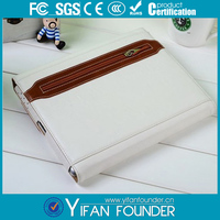 With zipper sleeve cover belt pu leather protector for ipad 3