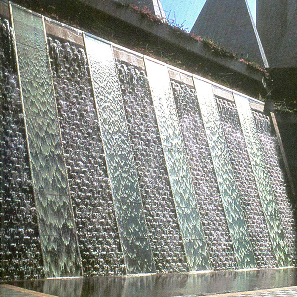 Factory supply outdoor stone wall fountain wall water for Wall water fountain