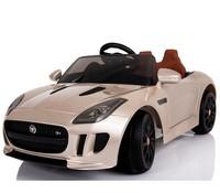 Champagne Jaguar Licensed 12V Kids Ride On Car Battery Powered Wheels ride-on toy car