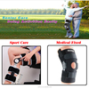 Hot sale pro sport neoprene knee support as seen on tv with pro steel stays